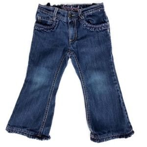 Gymboree Bootcut Jeans with Ruffle Hem 2T